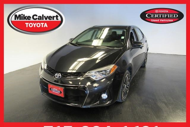 Certified Pre Owned 2016 Toyota Corolla S Plus 4d Sedan In Houston