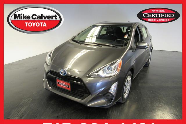 Certified Pre Owned 2015 Toyota Prius C One 4dr Car In Houston